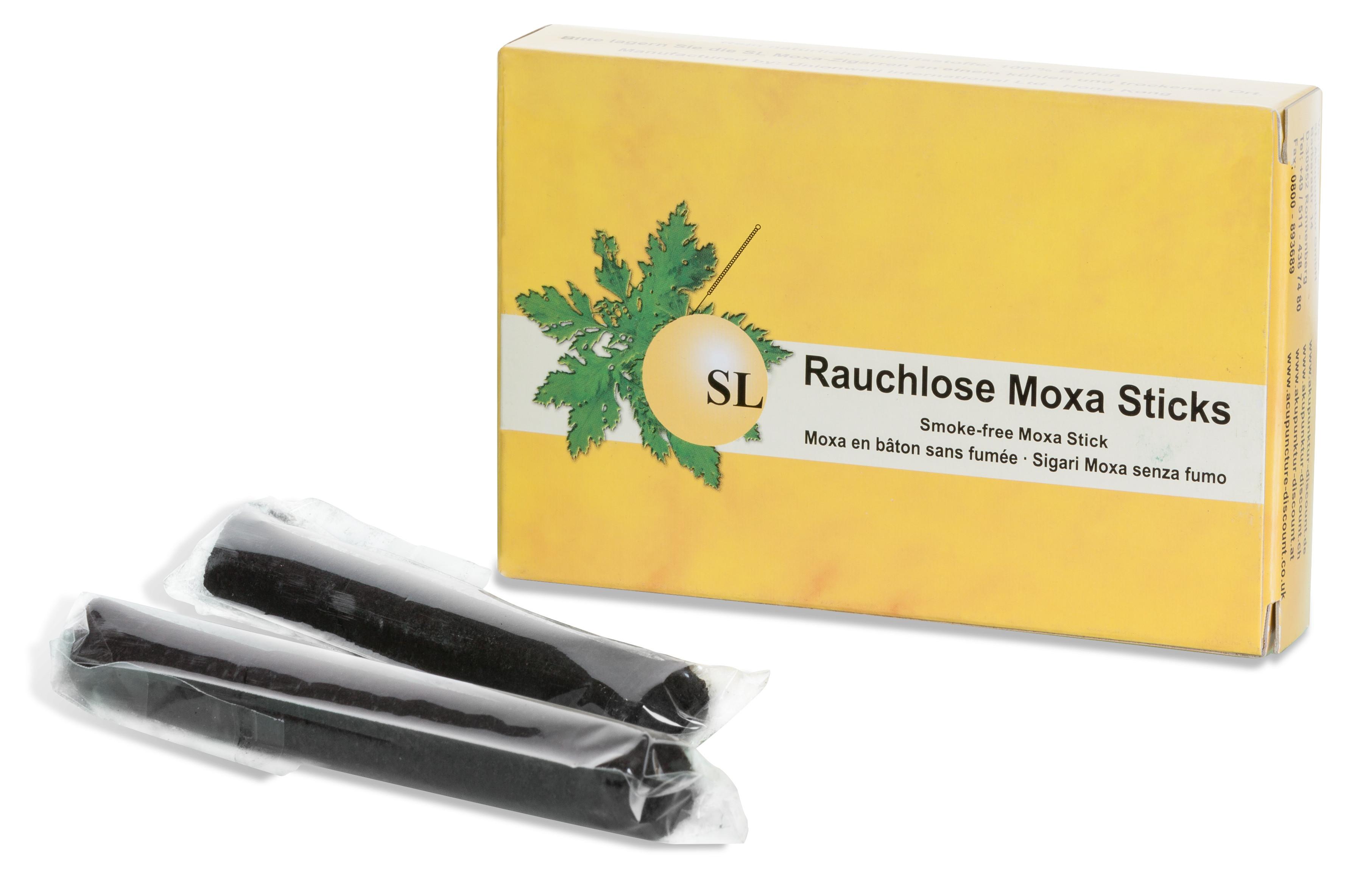 Moxa-Sticks, rauchlos